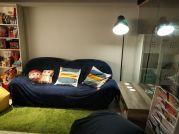 悠夏爾科技股份有限公司 - 悠閒自在沙發區,累了,就來這邊休息一下