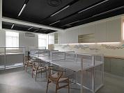 星予國際股份有限公司 - 二樓辦公區 背景也有日本藝術大師Sense作品