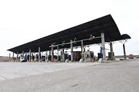 台北港貨櫃碼頭股份有限公司 - 管制站進出作業環境。